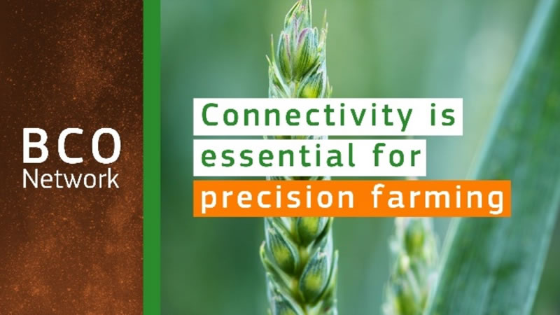 Connectivity is essential for Precision Farming