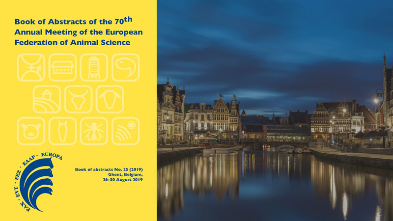 Book of Abstracts of 70th EAAP Annual Meeting available with all sessions