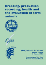 Breeding, production recording, health and the evaluation of farm animals