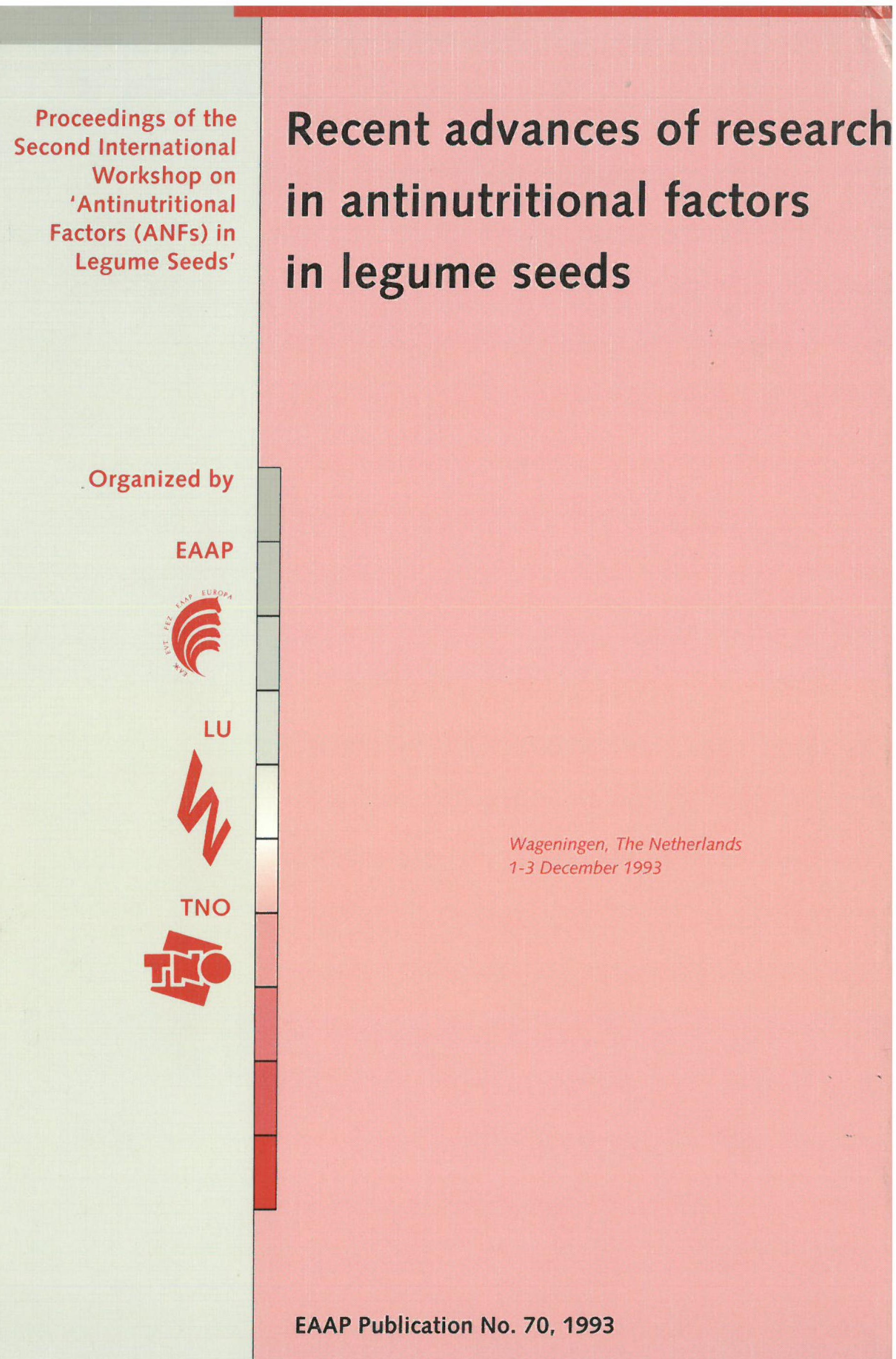Recent advances of research in antinutritional factors in legume seeds