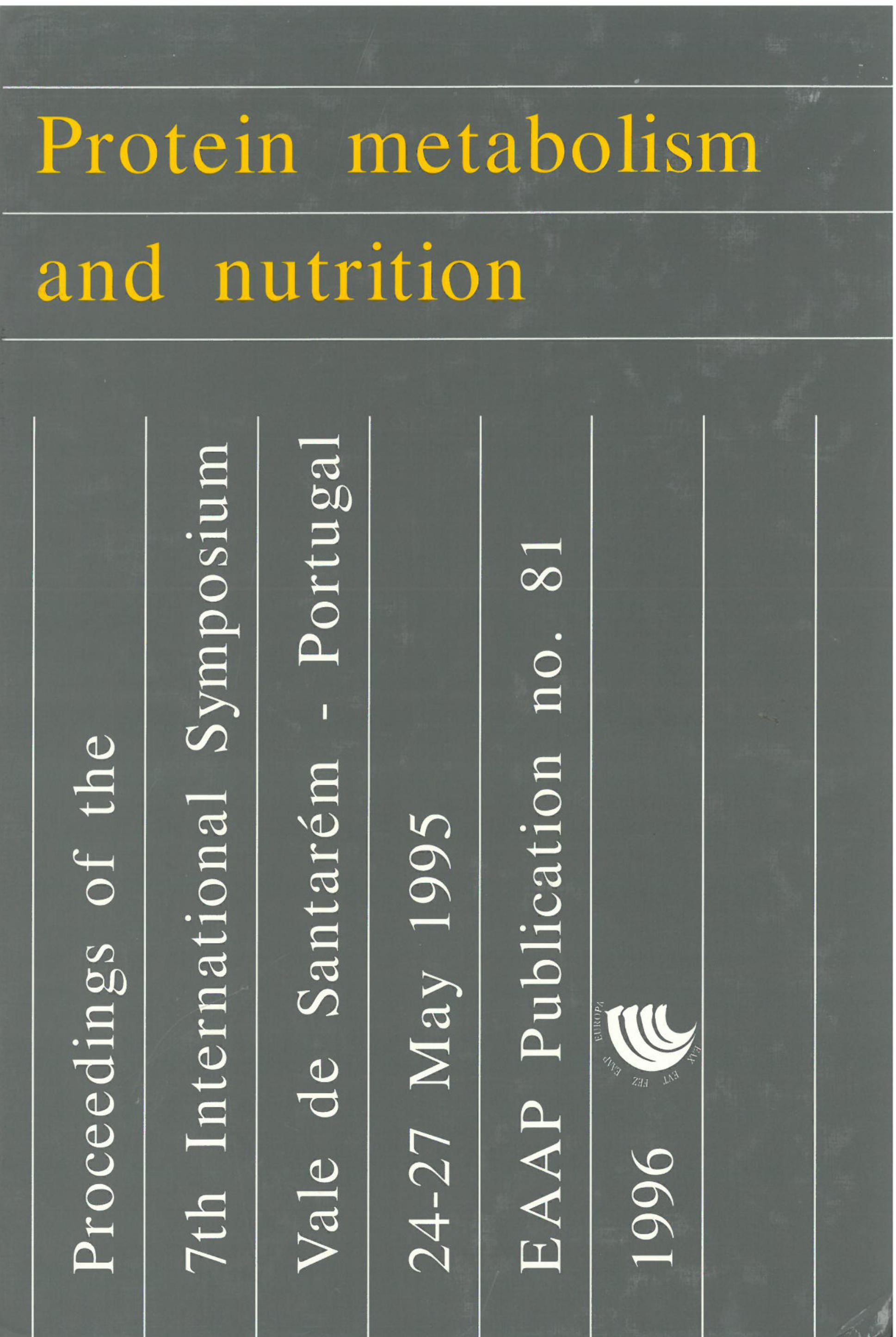 Protein metabolism and nutrition