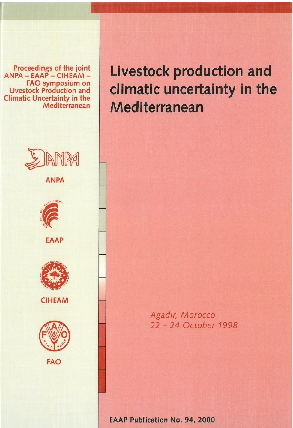 Livestock production and climatic uncertainty in the Mediterranean