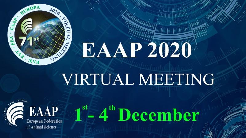 EAAP 2020 Virtual Meeting: 1st-4th December