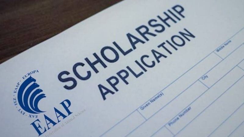 EAAP 2021 – Scholarship application announcement