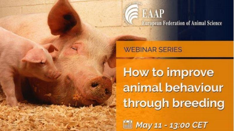 "EAAP Webinar: ""How to improve animal behaviour through breeding"""