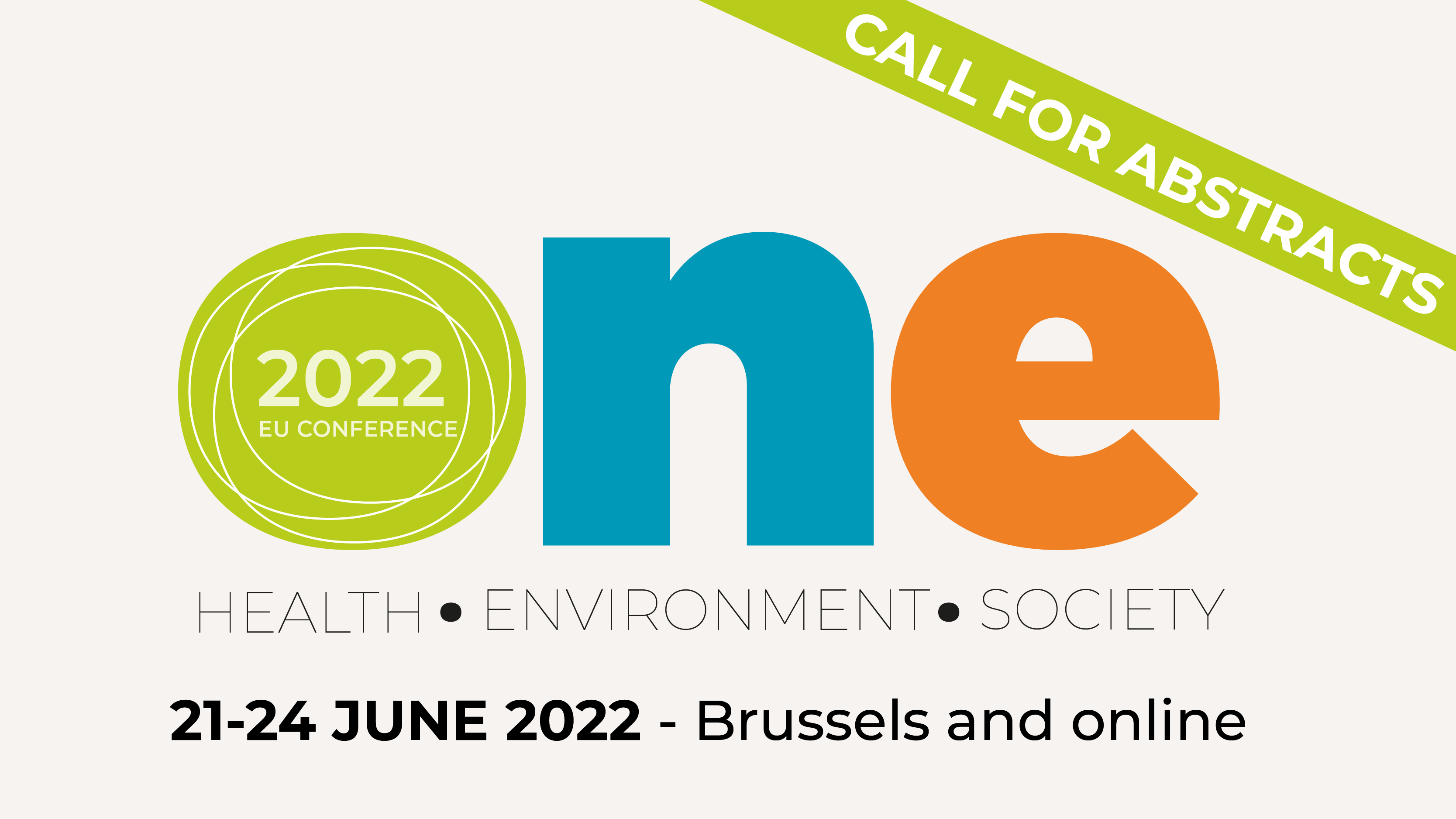 ONE Conference 2022 – Call for abstracts