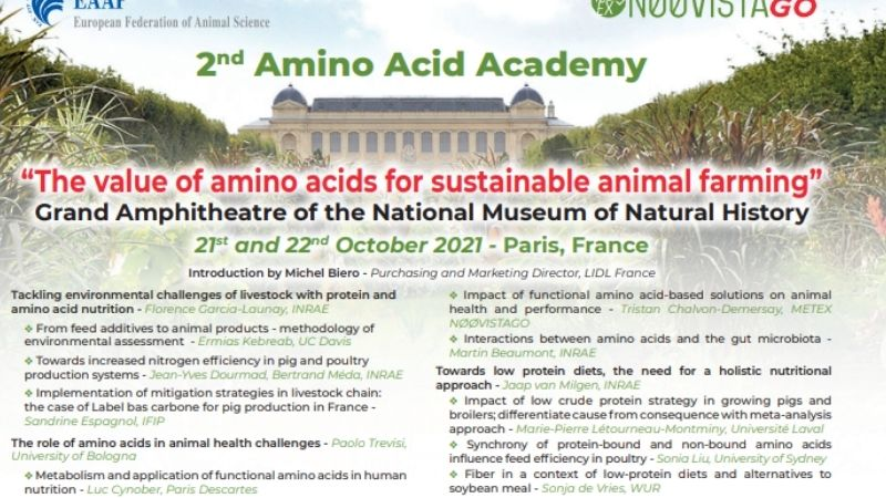 """2nd Amino Acid Academy – """"The value of amino acids for sustainable animal farming"""""""